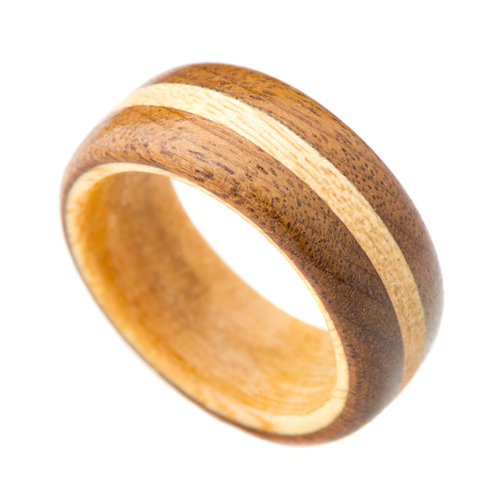 Imbuia jacaranda wooden ring wooden rings for How to make a wooden ring