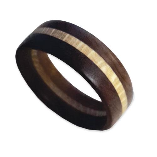 Imbuia & Macadamia Ring